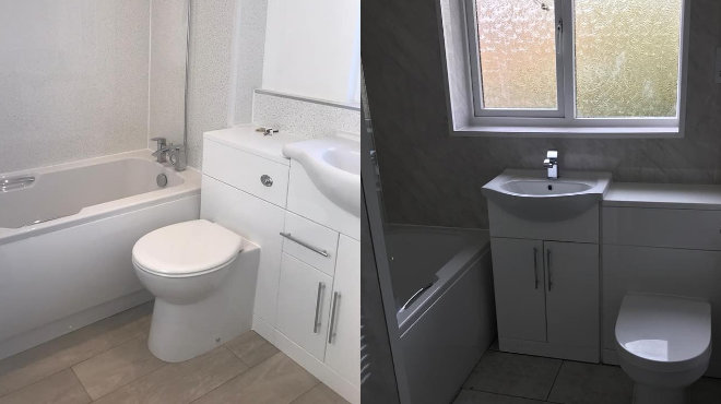 The Most Popular Colour For Your Bathroom A white Bathroom