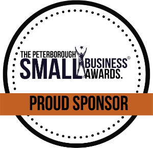 The peterborough small business awards 2020 proud sponsor