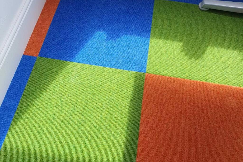 Branded Office Flooring