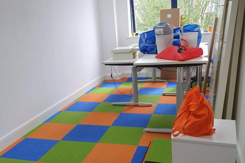 Branded Office Flooring Case Study 1