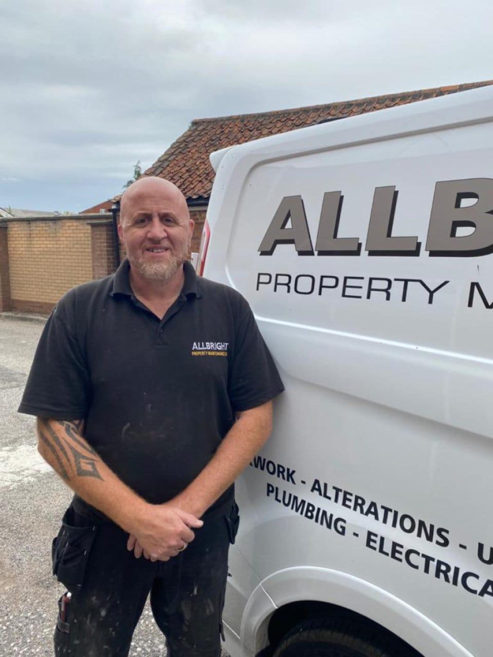 Screwfix Top Tradesperson 2020 Finalists allbright property maintenance peterborough adriano