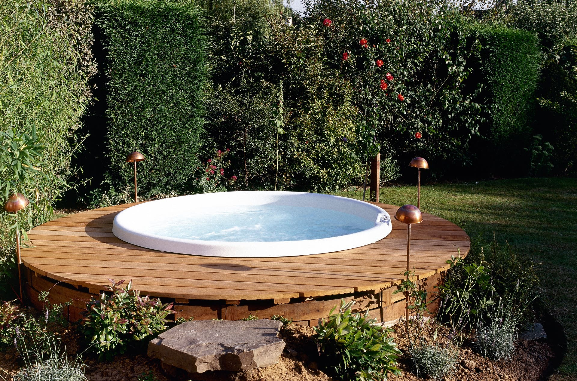 Getting Your Garden Jacuzzi Ready