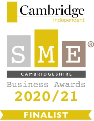 Cambridge Independent SME Business Awards finalist